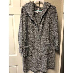 Gilligan & O'Malley hooded sweater cardigan